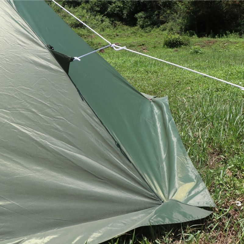 Mercury Hot Tent Teepee Tent Outdoor Camping For 4 Person - Wise Tents®