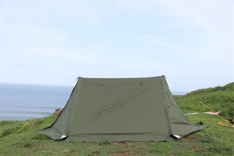 twinpeak awning, shelter tent, hot tent